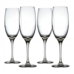Set of 4 Champagne Flutes - Mami XL - Alessi ALESSI ALESSG119/9S4