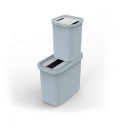 Recycling Collector & Caddy Set 46L - GoRecycle Light Blue - Joseph Joseph JOSEPH JOSEPH JJ30112