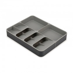 Expanding Cutlery, Utensil & Gadgets Organiser - DrawerStore Grey - Joseph Joseph JOSEPH JOSEPH JJ85166