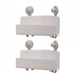 Set 2 Corner Shower Shelfs - Easystore White - Joseph Joseph JOSEPH JOSEPH JJ70550