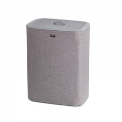 Easy-Empty Laundry Basket Grey 90L - Tota - Joseph Joseph