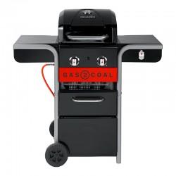 Barbecue Híbrido 2 Queimadores - Gas2Coal 2.0 210 - Charbroil