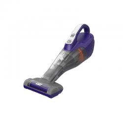 12V 1,5Ah Hand Vacuum Cleaner for Pets Purple - Black Decker BLACK DECKER DVB315JP