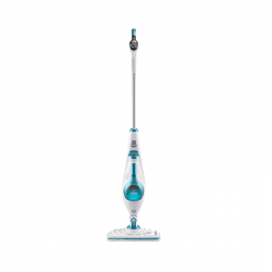 10 in 1 Autoselect Cleaning Mop White And Blue - Black Decker BLACK DECKER FSMH1621S