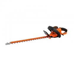 650W 60cm Hedge Trimmer with Rotating Head Orange - Black Decker BLACK DECKER BEHTS551