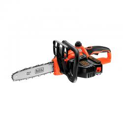 18V 2.0Ah Lithium-ion Cordless Chainsaw 25cm Orange - Black Decker BLACK DECKER GKC1825L20