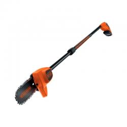 18V 2Ah 20cm Telescopic Chainsaw Orange - Black Decker BLACK DECKER GPC1820L20