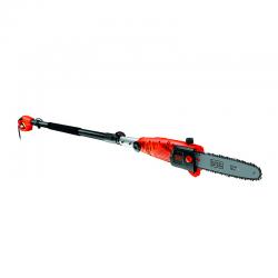 800W Electric Pole Saw 25cm Orange - Black Decker BLACK DECKER PS7525