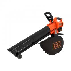 36V 3 in 1 Blower/Vacuum/Crusher - Black Decker BLACK DECKER BCBLV3625L1