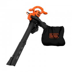 2600W Blower/Vacuum/Crusher - Black Decker BLACK DECKER BEBLV260