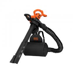 2900W 3 in 1 Blower/Vacuum/Shredder Orange - Black Decker BLACK DECKER BEBLV290