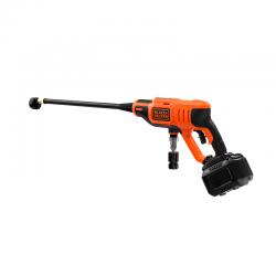 18V Pressure Cleaner with 2Ah Battery Li-Ion Orange - Black Decker BLACK DECKER BCPC18D1