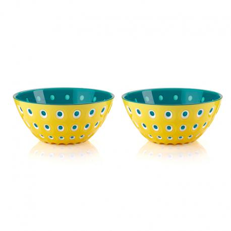 Conjunto de 2 Taças Ø12cm Amarelo, Branco e Azul - Le Murrine - Guzzini GUZZINI GZ279412225
