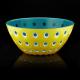 Taça Ø20cm Amarelo, Branco e Azul - Le Murrine - Guzzini GUZZINI GZ279420225