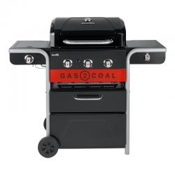 Hybrid Barbecue 3 Burners - Gas2Coal 2.0 330 - Charbroil