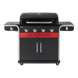 Hybrid Barbecue 4 Burners - Gas2Coal 2.0 440 - Charbroil