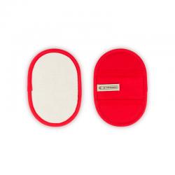 Set of 2 Fingergrip Pot Holder Cerise - Le Creuset LE CREUSET LC95002600060000