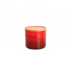 Stoneware Large Storage Jar 1,1L Cerise - Le Creuset