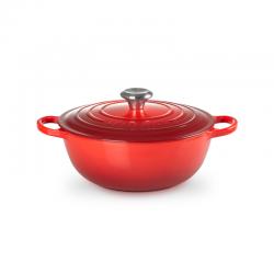 Cast Iron Soup Pot 26cm Cerise - Le Creuset LE CREUSET LC21114260600430