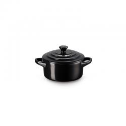 Mini Cocotte 250ml Preto Onyx - Le Creuset LE CREUSET LC71901101400000