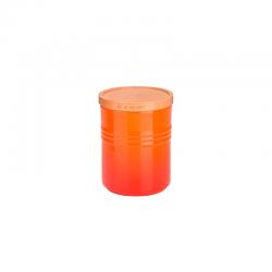 Stoneware Medium Storage Jar 540ml Volcanic - Le Creuset