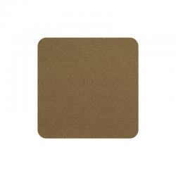 Set of 4 Coasters 10x10cm Cork - Soft Leather - Asa Selection