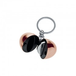 Key Ring/Coin Holder - Bon Bon Golden Pink - Alessi