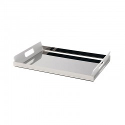 Tray With Handles 45Cm - Vassily White - Alessi
