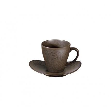 Cup With Saucer - Cuba Brown - Asa Selection ASA SELECTION ASA1224422