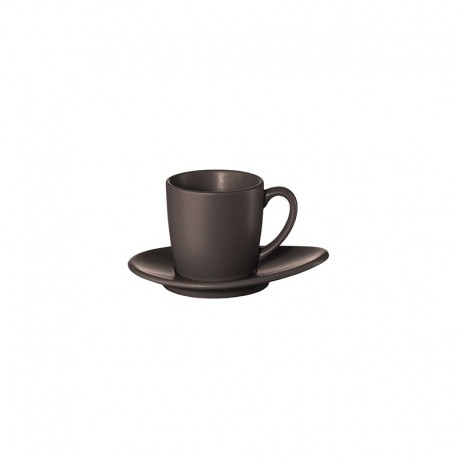 Espresso Cup With Saucer - Cuba Marone Brown - Asa Selection ASA SELECTION ASA1231422