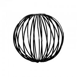 Set of 3 Black Metal Balls ø9cm - Deko - Asa Selection | Set of 3 Black Metal Balls ø9cm - Deko - Asa Selection