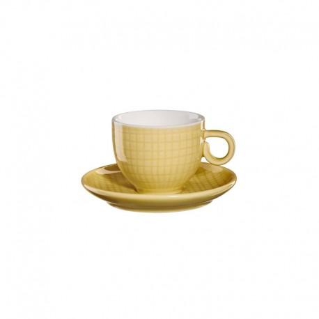 Espresso Taza Con Platillo - Voyage Amarillo - Asa Selection |Espresso Taza Con Platillo - Voyage Amarillo - Asa Selection