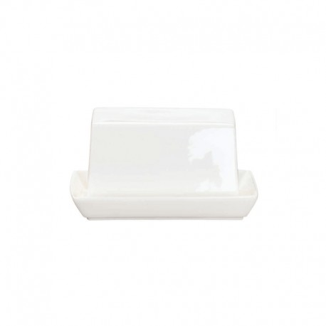 Butter Dish Small 11Cm - À Table White - Asa Selection ASA SELECTION ASA1983013