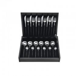 Cutlery Set 24 Pieces - Goa Black - Asa Selection