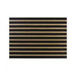 Mantel Individual - Bambus Rayas Negras - Asa Selection