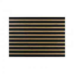 Placemat - Bambus Black Stripes - Asa Selection