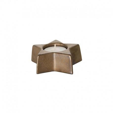 Portavela 3,5cm - X-mas Negro E Dorado - Asa Selection ASA SELECTION ASA6106426