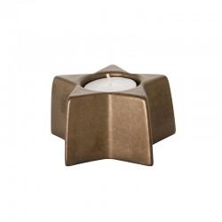 Portavela 5cm - X-mas Negro E Dorado - Asa Selection ASA SELECTION ASA6107426