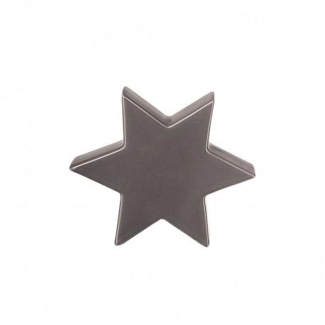 Estrela Decorativa 10cm Cinza - Xmas - Asa Selection ASA SELECTION ASA6110048