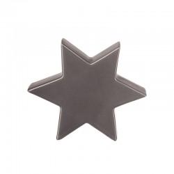 Estrela Decorativa 16cm Cinza - Xmas - Asa Selection