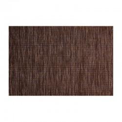 Mantel Individual Marrón y Negro - Pvc Marrón/negro - Asa Selection