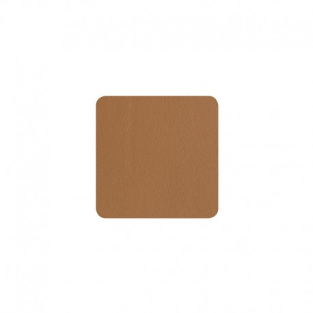Set of 4 Coasters - Leder Caramel - Asa Selection ASA SELECTION ASA7832420