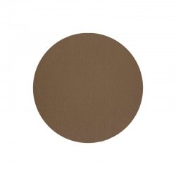 Placemat Round Brown - Leder - Asa Selection