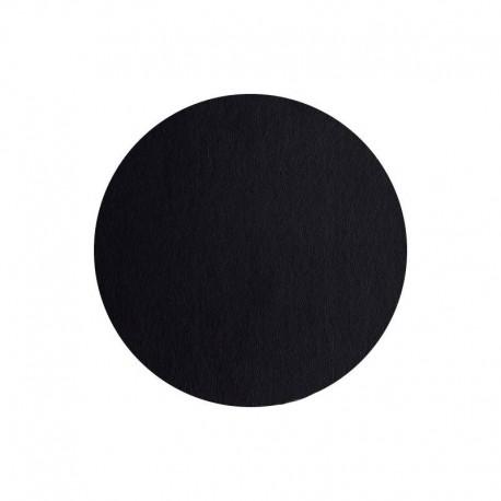 Mantel Individual Redondo - Leder Negro - Asa Selection ASA SELECTION ASA7855420