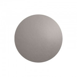 Individual De Mesa Redondo - Leder Cimento - Asa Selection