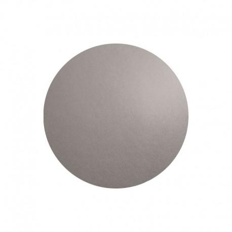 Individual De Mesa Redondo - Leder Cimento - Asa Selection ASA SELECTION ASA7856420