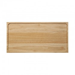 Wooden Tray Rectangular - Black Tea Steel - Asa Selection