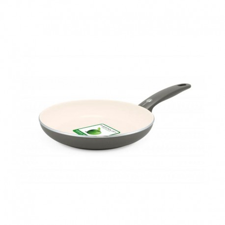 Frying Pan Ø24Cm - Cambridge Cream And Grey - Green Pan GREEN PAN CW001491-003