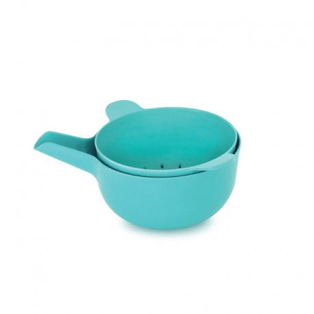 Small Bowl + Colander - Pronto Lagoon - Biobu BIOBU EKB68623