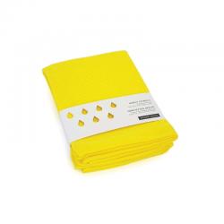 Conjunto Toalhas De Visitas - Baño Amarelo (limão) - Ekobo Home